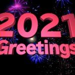 2021年のご挨拶